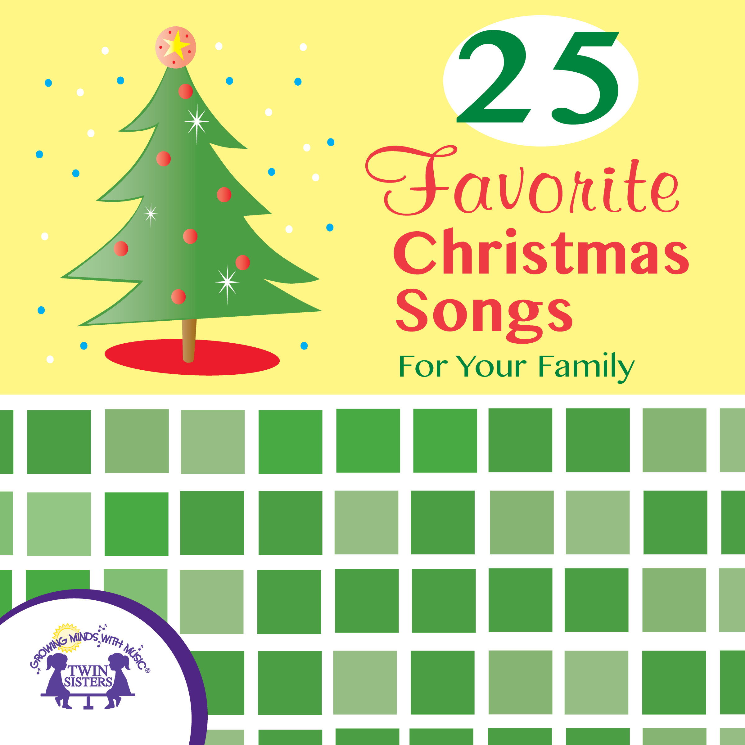 25 Favorite Christmas Songs for Your Family | Twin Sisters
