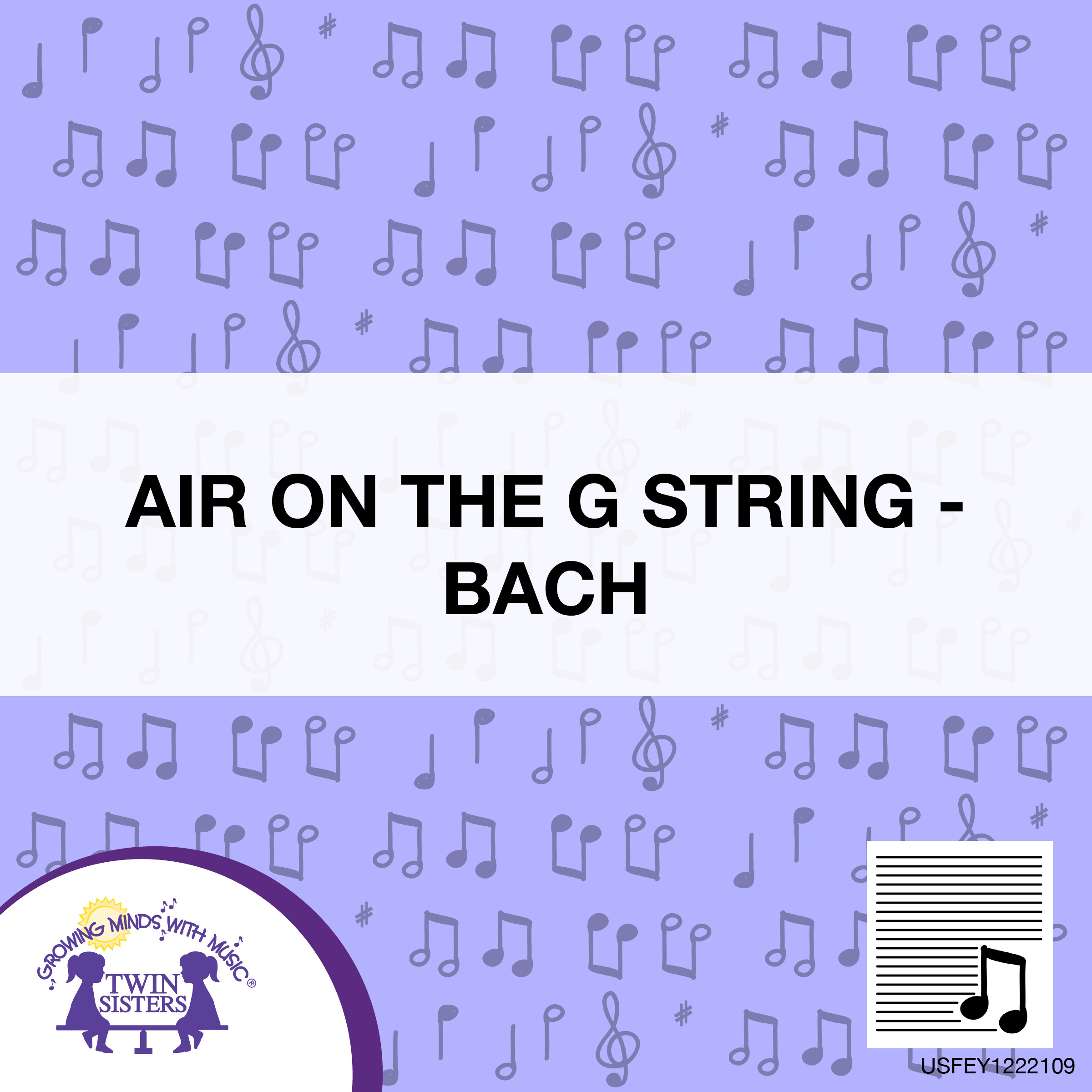 Air On The G String – Bach | Twin Sisters